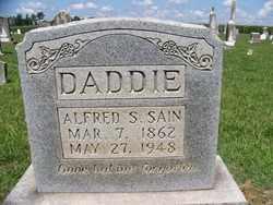 "SAIN, ALFRED SMARTT ""DICK"" - Coffee County, Tennessee | ALFRED SMARTT ""DICK"" SAIN - Tennessee Gravestone Photos"