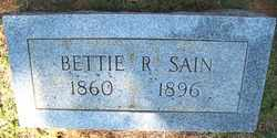 SAIN, BETTIE J. - Coffee County, Tennessee | BETTIE J. SAIN - Tennessee Gravestone Photos