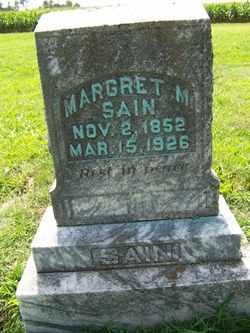 SAIN, MARGARET M. - Coffee County, Tennessee   MARGARET M. SAIN - Tennessee Gravestone Photos