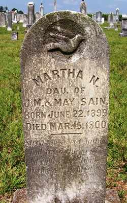 SAIN, MARTHA N. - Coffee County, Tennessee | MARTHA N. SAIN - Tennessee Gravestone Photos
