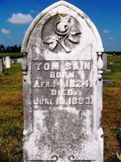 "SAIN, THOMAS ""TOM"" - Coffee County, Tennessee | THOMAS ""TOM"" SAIN - Tennessee Gravestone Photos"