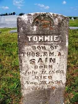 SAIN, TOMMIE - Coffee County, Tennessee | TOMMIE SAIN - Tennessee Gravestone Photos