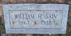SAIN, WILLIAM HARRISON - Coffee County, Tennessee | WILLIAM HARRISON SAIN - Tennessee Gravestone Photos