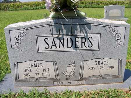 SANDERS, GRACE - Coffee County, Tennessee | GRACE SANDERS - Tennessee Gravestone Photos