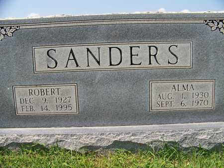 SANDERS, ROBERT - Coffee County, Tennessee | ROBERT SANDERS - Tennessee Gravestone Photos