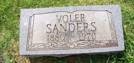 NUNLEY SANDERS, VOLER - Coffee County, Tennessee | VOLER NUNLEY SANDERS - Tennessee Gravestone Photos