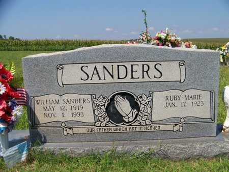 SANDERS, WILLIAM - Coffee County, Tennessee | WILLIAM SANDERS - Tennessee Gravestone Photos