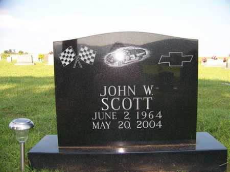 SCOTT, JOHN W. - Coffee County, Tennessee | JOHN W. SCOTT - Tennessee Gravestone Photos