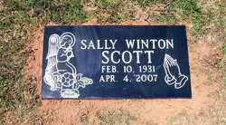 "SCOTT, JOSEPHINE ""SALLY"" - Coffee County, Tennessee 