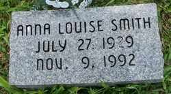 SMITH, ANNA LOUISE - Coffee County, Tennessee | ANNA LOUISE SMITH - Tennessee Gravestone Photos