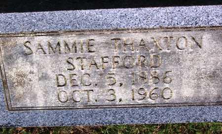 THAXTON STAFFORD, SAMMIE ANNETTE - Coffee County, Tennessee | SAMMIE ANNETTE THAXTON STAFFORD - Tennessee Gravestone Photos
