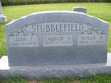 STUBBLEFIELD, LIZZY - Coffee County, Tennessee | LIZZY STUBBLEFIELD - Tennessee Gravestone Photos