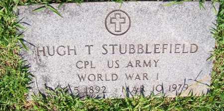 STUBBLEFIELD  (VETERAN WWI), HUGH THOMAS - Coffee County, Tennessee | HUGH THOMAS STUBBLEFIELD  (VETERAN WWI) - Tennessee Gravestone Photos