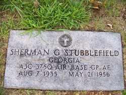 STUBBLEFIELD  (VETERAN), SHERMAN G JR - Coffee County, Tennessee | SHERMAN G JR STUBBLEFIELD  (VETERAN) - Tennessee Gravestone Photos