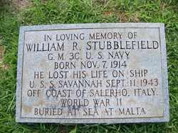 STUBBLEFIELD  (VETERAN WWII), WILLIAM RANSOM - Coffee County, Tennessee | WILLIAM RANSOM STUBBLEFIELD  (VETERAN WWII) - Tennessee Gravestone Photos