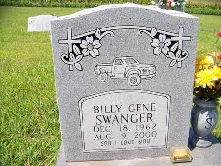 SWANGER, BILLY GENE - Coffee County, Tennessee | BILLY GENE SWANGER - Tennessee Gravestone Photos