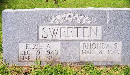 SWEETEN, ELZIE A. - Coffee County, Tennessee | ELZIE A. SWEETEN - Tennessee Gravestone Photos