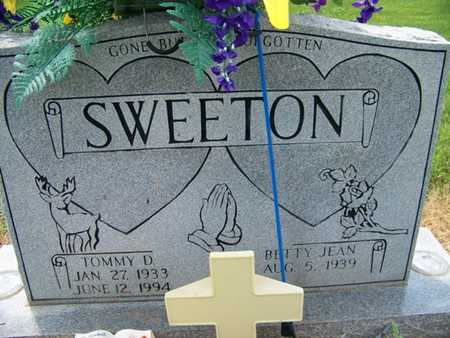 CAMPBELL SWEETON, BETTY JEAN - Coffee County, Tennessee | BETTY JEAN CAMPBELL SWEETON - Tennessee Gravestone Photos