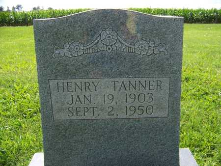 TANNER, HENRY - Coffee County, Tennessee | HENRY TANNER - Tennessee Gravestone Photos