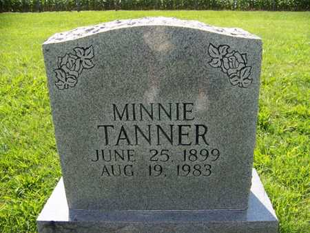 TANNER, MINNIE - Coffee County, Tennessee | MINNIE TANNER - Tennessee Gravestone Photos