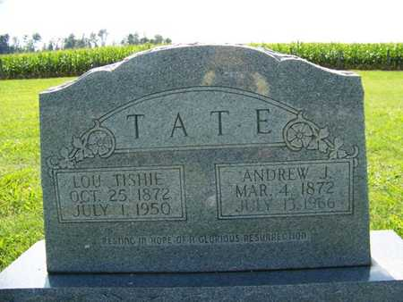FULTS TATE, LOU TISHIE - Coffee County, Tennessee | LOU TISHIE FULTS TATE - Tennessee Gravestone Photos