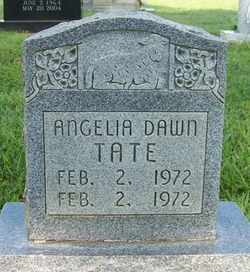 TATE, ANGELA DAWN - Coffee County, Tennessee | ANGELA DAWN TATE - Tennessee Gravestone Photos