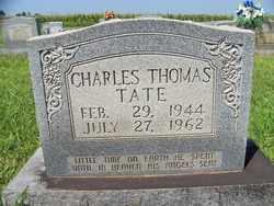 TATE, CHARLES THOMAS - Coffee County, Tennessee | CHARLES THOMAS TATE - Tennessee Gravestone Photos