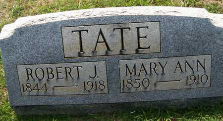 TATE, ROBERT JACKSON - Coffee County, Tennessee | ROBERT JACKSON TATE - Tennessee Gravestone Photos