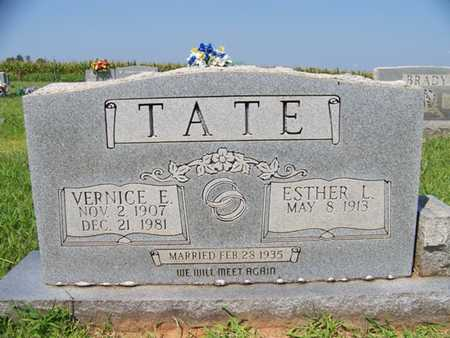 UNDERDOWN TATE, ESTHER LEE - Coffee County, Tennessee | ESTHER LEE UNDERDOWN TATE - Tennessee Gravestone Photos