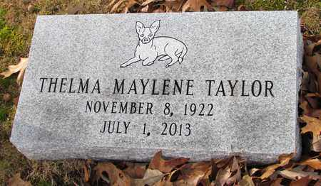 TAYLOR, THELMA MAYLENE - Coffee County, Tennessee | THELMA MAYLENE TAYLOR - Tennessee Gravestone Photos