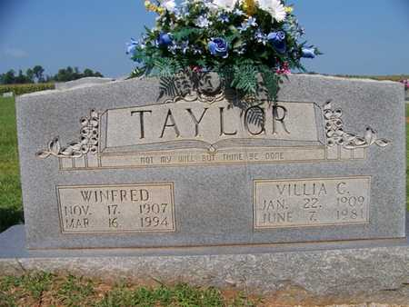 CROSSLIN TAYLOR, VILLIA - Coffee County, Tennessee | VILLIA CROSSLIN TAYLOR - Tennessee Gravestone Photos