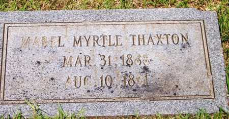 THAXTON, MABEL MYRTLE - Coffee County, Tennessee | MABEL MYRTLE THAXTON - Tennessee Gravestone Photos