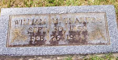 THAXTON, WILLIAM MILES - Coffee County, Tennessee | WILLIAM MILES THAXTON - Tennessee Gravestone Photos