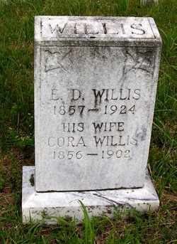 WILLIS, E.D. - Coffee County, Tennessee | E.D. WILLIS - Tennessee Gravestone Photos