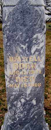 YELL, B. A. - Coffee County, Tennessee | B. A. YELL - Tennessee Gravestone Photos