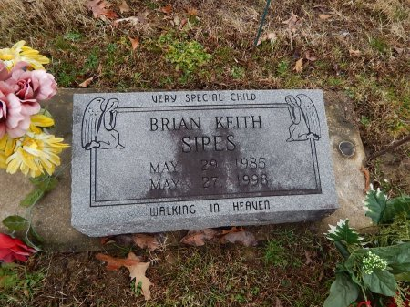 SIPES, BRIAN KEITH - Crockett County, Tennessee | BRIAN KEITH SIPES - Tennessee Gravestone Photos