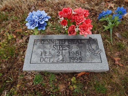 SIPES, KENNETH NEAL - Crockett County, Tennessee | KENNETH NEAL SIPES - Tennessee Gravestone Photos