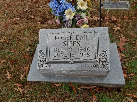 SIPES, ROGER DAIL - Crockett County, Tennessee | ROGER DAIL SIPES - Tennessee Gravestone Photos