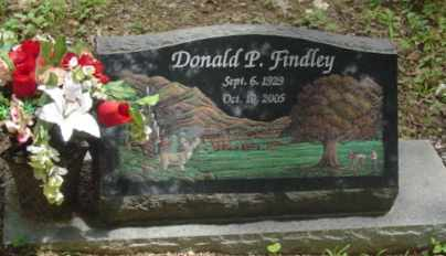 FINDLEY, DONALD P. - Cumberland County, Tennessee   DONALD P. FINDLEY - Tennessee Gravestone Photos