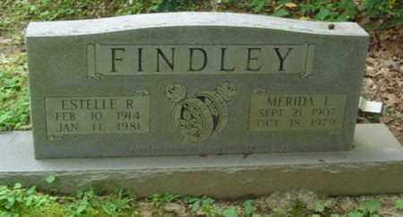 FINDLEY, MERIDA L. - Cumberland County, Tennessee | MERIDA L. FINDLEY - Tennessee Gravestone Photos