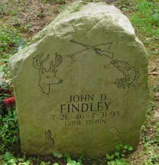 FINDLEY, JOHN D. - Cumberland County, Tennessee | JOHN D. FINDLEY - Tennessee Gravestone Photos
