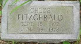 FITZGERALD, CHLOE - Cumberland County, Tennessee | CHLOE FITZGERALD - Tennessee Gravestone Photos
