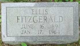 FITZGERALD, ELLIS - Cumberland County, Tennessee | ELLIS FITZGERALD - Tennessee Gravestone Photos