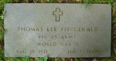 FITZGERALD  (VETERAN WWII), THOMAS LEE - Cumberland County, Tennessee | THOMAS LEE FITZGERALD  (VETERAN WWII) - Tennessee Gravestone Photos