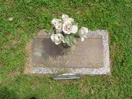 EVANS GUNTER, DELIA - Cumberland County, Tennessee | DELIA EVANS GUNTER - Tennessee Gravestone Photos