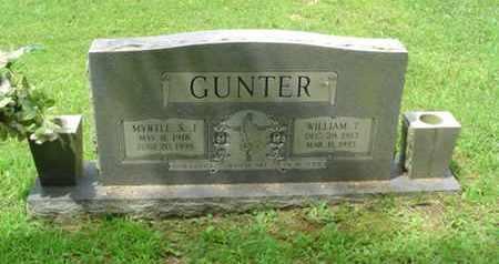 GUNTER, MYRTLE SARAH JANE - Cumberland County, Tennessee | MYRTLE SARAH JANE GUNTER - Tennessee Gravestone Photos