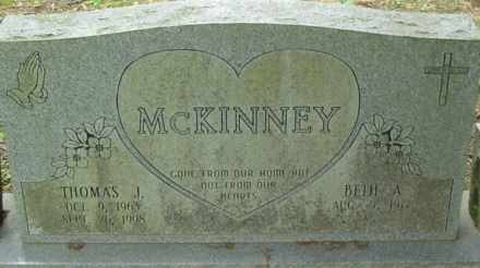 MCKINNEY, THOMAS JACKSON - Cumberland County, Tennessee | THOMAS JACKSON MCKINNEY - Tennessee Gravestone Photos