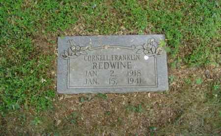 REDWINE, CORNELL FRANKLIN - Cumberland County, Tennessee | CORNELL FRANKLIN REDWINE - Tennessee Gravestone Photos