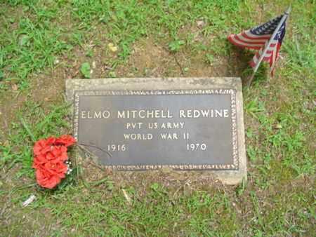 REDWINE  (VETERAN WWII), ELMO MITCHELL - Cumberland County, Tennessee | ELMO MITCHELL REDWINE  (VETERAN WWII) - Tennessee Gravestone Photos