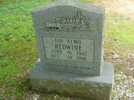 REDWINE, FOY ELMO - Cumberland County, Tennessee   FOY ELMO REDWINE - Tennessee Gravestone Photos